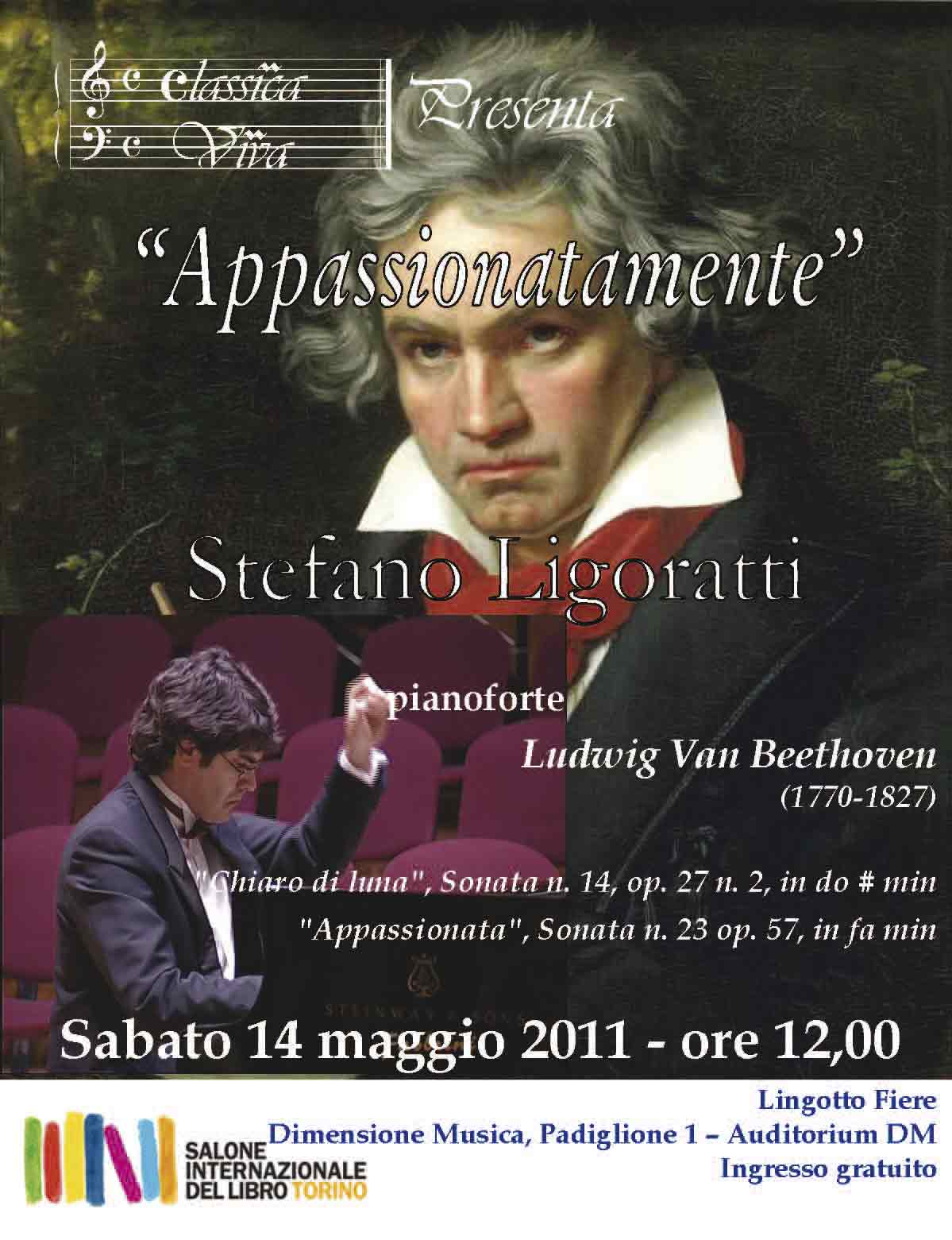Concerto Appassionatamente di Stefano Ligoratti - Torino - Salone del Libro 2011
