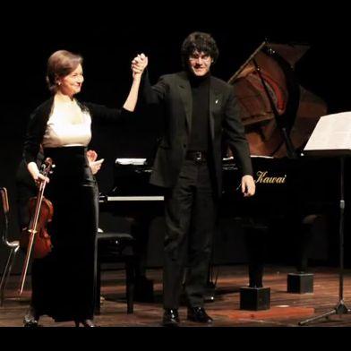 Yulia Berinskaya e Stefano Ligoratti in concerto